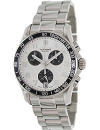 Victorinox Swiss Army Chrono Classic Silver-Tone Dial Men's Watch #241495