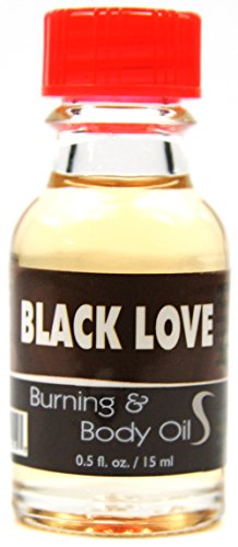 Popular Flavor Fragrance Body And Burning Oil 0.5 Oz (BLACK LOVE)