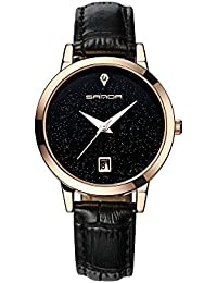 Reloj De Mujer Fashion Moda Women Casual Quartz Wristwatch Relogio Feminino RE0066