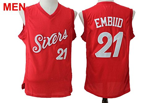 ... discount code for mens philadelphia 76ers 21 joel embiid christmas  edition basketball jerseys embiid red m 9d7dc91d4