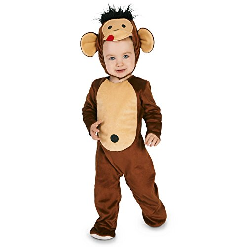[Monkeyin' Around Toddler Costume 2-4T] (Baby Gorilla Costumes)
