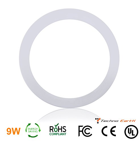 mable Round Ceiling Panel Led Ultra Thin Glare Light Kits with Led Driver AC 85-265V - Natural White (Knight Base Table)