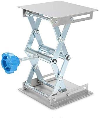 Plataforma elevadora de acero inoxidable Soporte Rack Tijera Lab ...