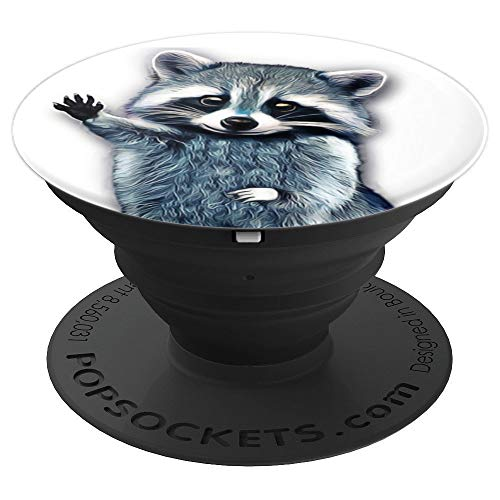 Funny Raccoon Cute Graphic Smartphones cell phone - PopSockets Grip and Stand for Phones and Tablets