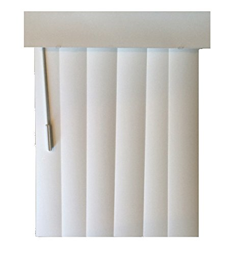 Norman Essential Vertical Blinds (104Wx82L, Silk white) by Norman