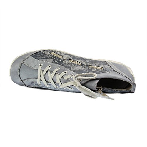 Scarpe Da Donna Remonte R3483 Sneaker Da Donna, Stringate, Stringate Con Cerniera Funzionale Blu