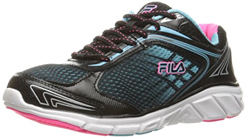 Fila Frauen Memory Narrow Escape Cross-Trainer Schuh Schwarz / Bluefish / Knockout Pink