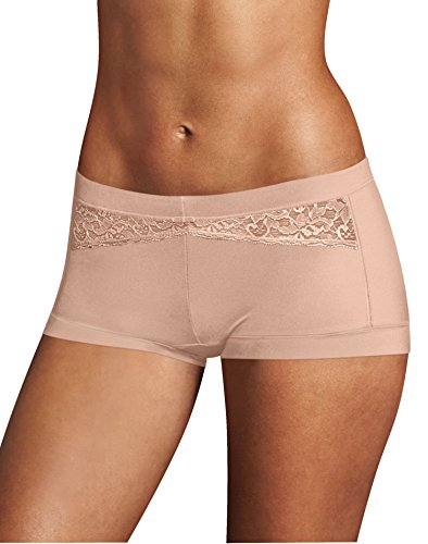Maidenform Dream Boyshort, Evening Blush/Rose Petal, 5