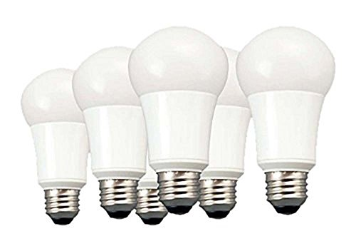 TCP 60 Watt Equivalent 6-pack, A19 LED Light Bulbs, Non-Dimmable Soft White, LA1027KND6