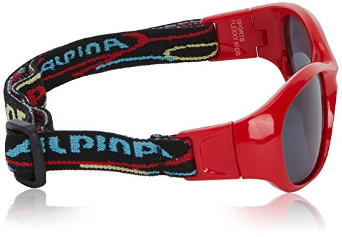 Lunettes de Alpina sport de Rouge soleil Flexy 1wAzqx86