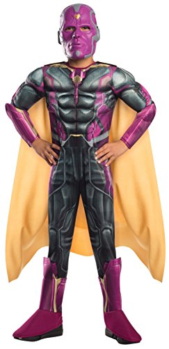 Rubie's Costume Avengers 2 Age of Ultron Child's Deluxe Vision Costume, -