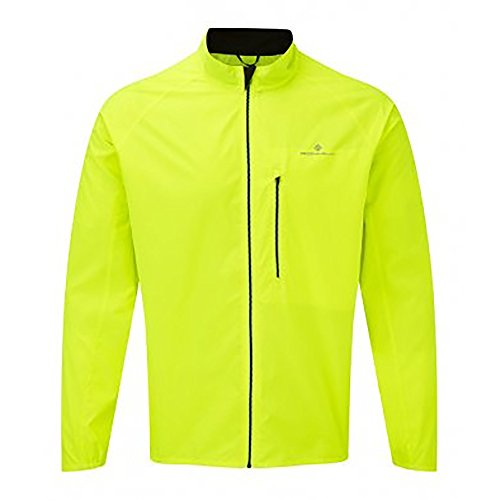 Ronhill Mens Everyday Jacket (L) (Fluorescent Yellow) from Ronhill