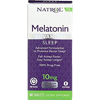 Natrol (1 Item ONLY) Advanced Sleep Melatonin 10 mg, 60 Tablets