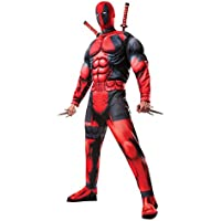 Rubie's Men's Marvel Universe Classic Muscle Chest Deadpool Costume
