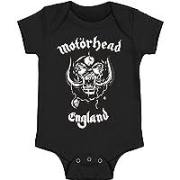 Motorhead Boys' England Bodysuit Black