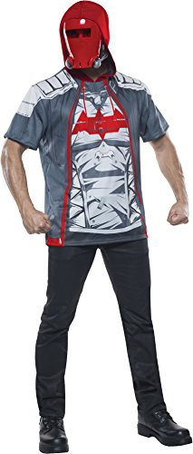 Red Hood Costume Arkham Knight (Rubie's Costume Co Men's Arkham Knight Red Hood Costume Top, Multi, Medium)