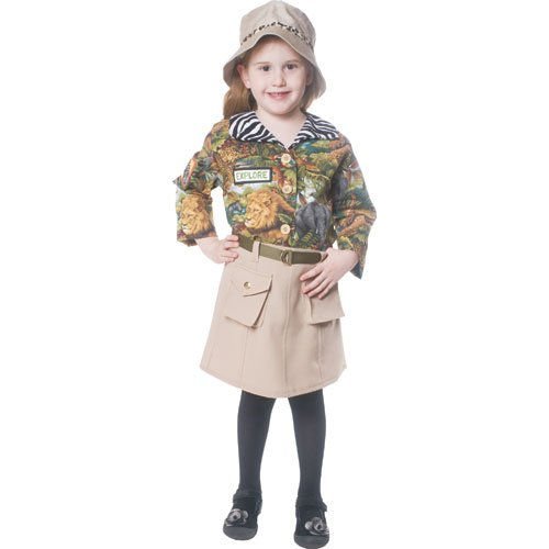 Safari Girl Children's Costume Size: -