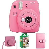 Fujifilm Instax Mini 9 Geschenkset, flamingo rosa