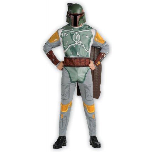 Star Wars Boba Fett Adult Costumes (Rubie's Costume Men's Star Wars Adult Boba Fett, Multicolor, Standard)