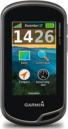 Garmin Oregon 650 3-Inch Worldwide Handheld GPS with 8MP Digital Camera