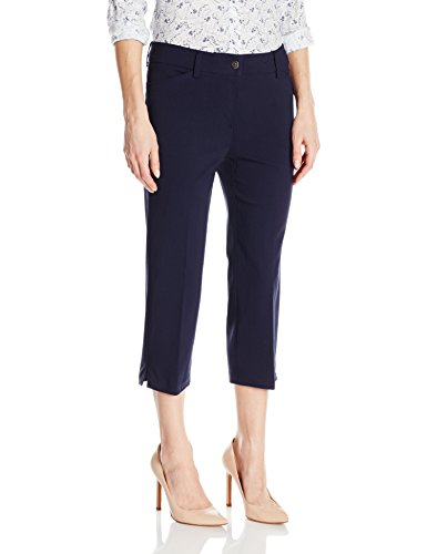 Navy Blue Capri Pants - 4