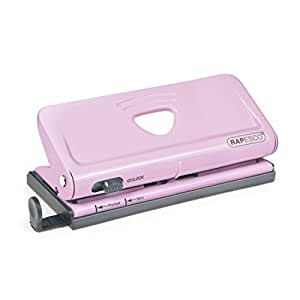 Rapesco Adjustable 6-Hole Organizer/Diary Punch - Candy Pink (1322)
