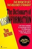 Dictionary of Misinformation, Tom Burnam, 0062720503