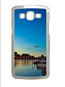 Evening City lights Custom Samsung Grand 7106/2 Case Cover Polycarbonate Transparent