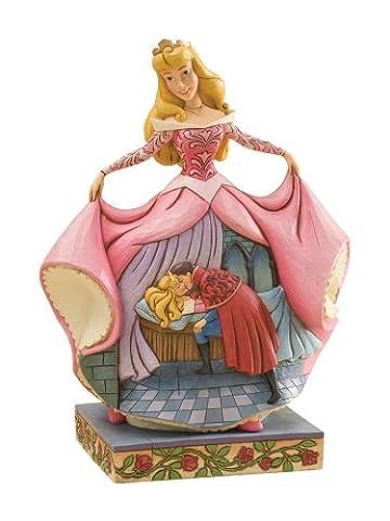 Jim Shore / Disney Traditions Sleeping Beauty: True Love's Kiss (Disney Traditions Beast)