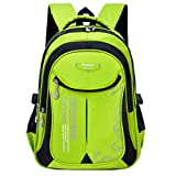 Macbag School Backpack Casual Daypack Travel Outdoor Camouflage Backpack for Boys and Girls (Green)