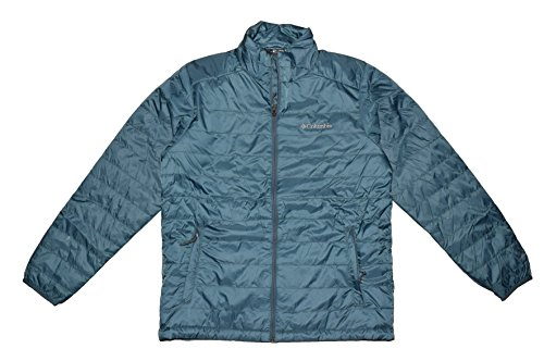 Columbia Mens Crested Butte Omni-Heat Jacket-TEAL (L)