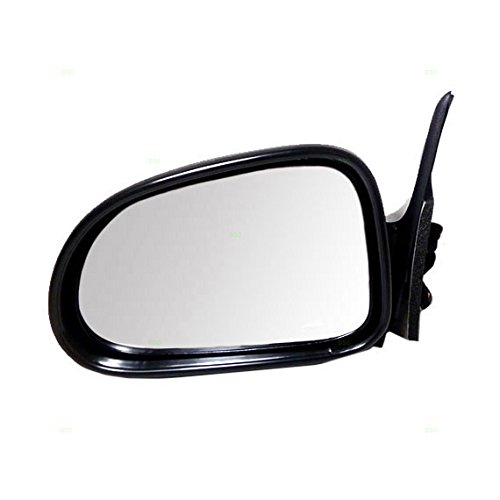 Drivers Manual Side View Mirror Textured Replacement for Dodge SUV Pickup Truck 55154847AD AutoAndArt