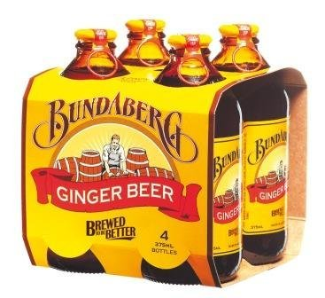 Bundaberg Ginger Beer 4 Bottles