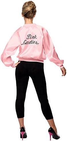 Smiffys 28385, Chaqueta de Mujer para Grease, Rosa, M (12-14 UK ...