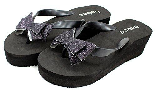 Bobee Womens Platform Colored Sandals