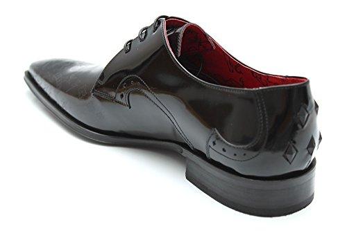 Jeffery West Muse G0754A - Chaussures de ville - cuir - dessins - homme - Noir