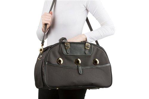 Petote Ariel Pet Carrier Bag - Black