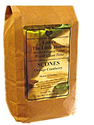 Lana's The Little House Cranberry Orange Scone Mix, Makes 12 Large Scones