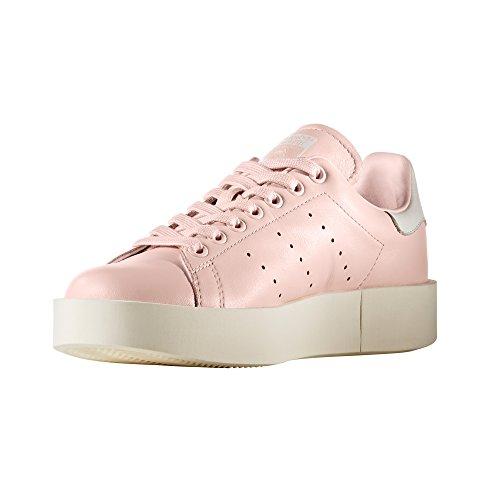 Adidas Originals Damen Stan Smith Formateur En Cuir Gras De La Plate-forme Zake Icey / Rose