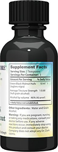Original Green Black Walnut Hull Tincture (Extra Strength) by Dr. Hulda Clark, 1 oz - http://coolthings.us