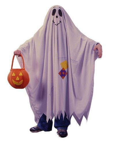 Morris Costumes Child Friendly Ghost Small