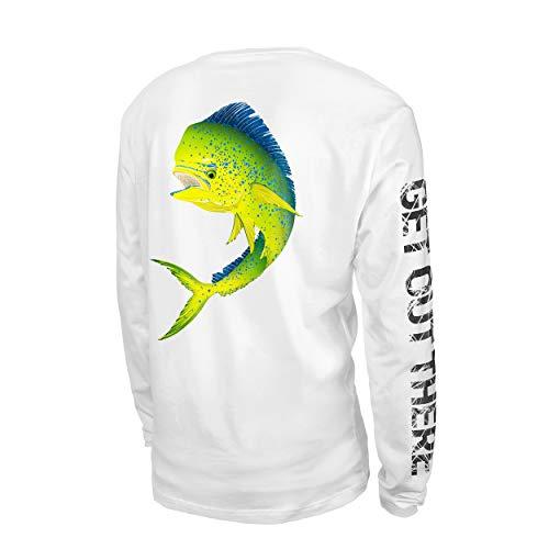 GOT Sports UPF 50+ Performance Long Sleeve Shirt for Fishing, Sailing, Kayaking (Mahi X-Large)