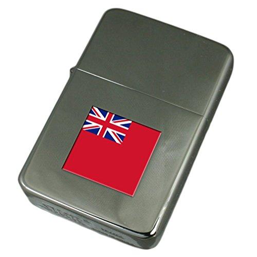 Engraved Lighter Red Ensign Militairy England Flag