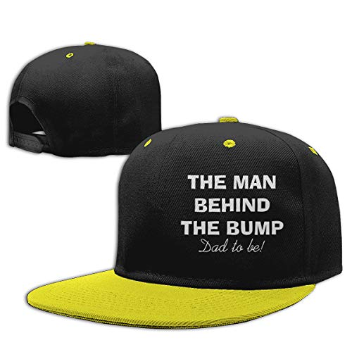 Huanghsf The Man Behind The Bump Funny Unisex Children's Hats Yellow