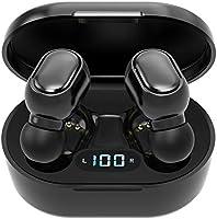 Ecouteur Bluetooth sans Fil Oreillette Bluetooth 5.0 Sport Écouteurs Etanche IPX5,Affichage LED Commande Tactile Ecouteur...