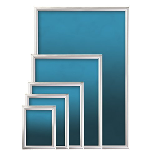 SECO Front Load Easy Open Snap Frame Poster/Picture Frame 24 x 36 Inches, Silver Metal Frame (SN2436-SV) by Unknown (Image #3)