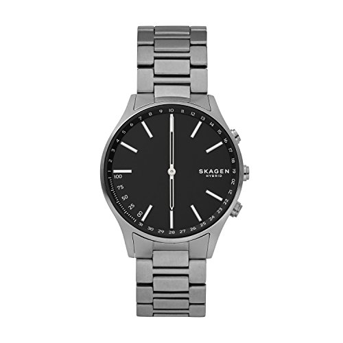 Skagen Connected Men's Holst Titanium Hybrid Smartwatch, Color: Grey (Model: SKT1305)