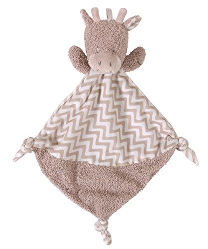 Stephan Baby Plush Knotty Animal Security Blankie, Giraffe