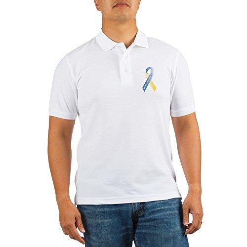Driver Short Sleeve Pique Shirt (CafePress - Down Syndrome Awareness - Golf Shirt, Pique Knit Golf Polo)