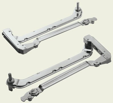 """Blum 20L3800.05 AVENTOS HL Face Frame Lift-Up Cabinet Arm Assembly Set for Cabinet Heights of 15-3/4"""" to 21-5/8"""""""